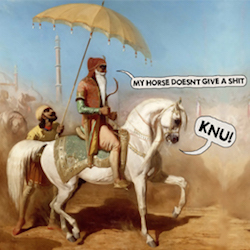 Knu! My Horse Doesn't Give A Shit (CD)